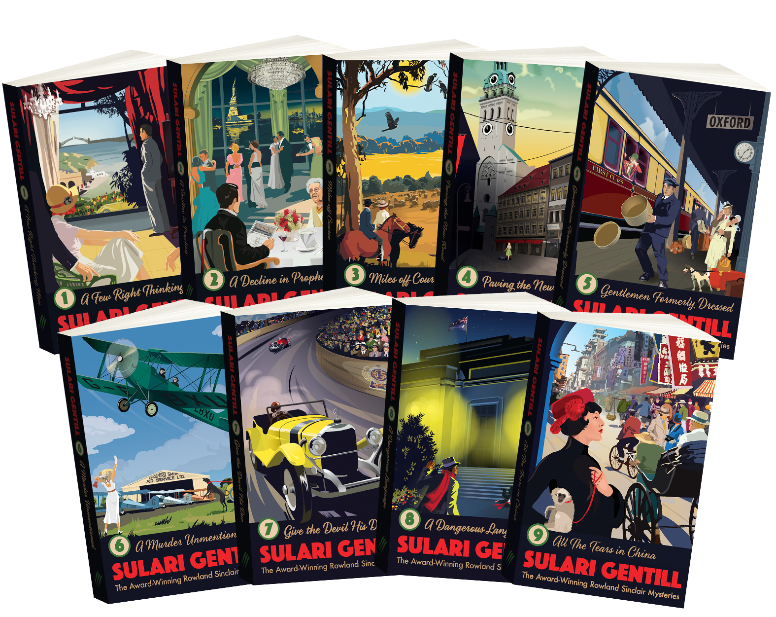 The Rowland Sinclair Mysteries – 2017 edition Cover Image