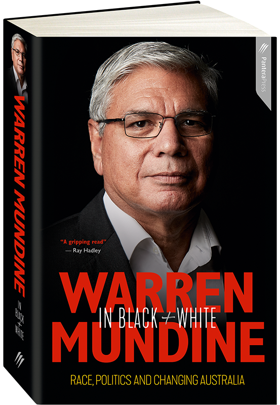Warren Mundine in Black + White Cover Image