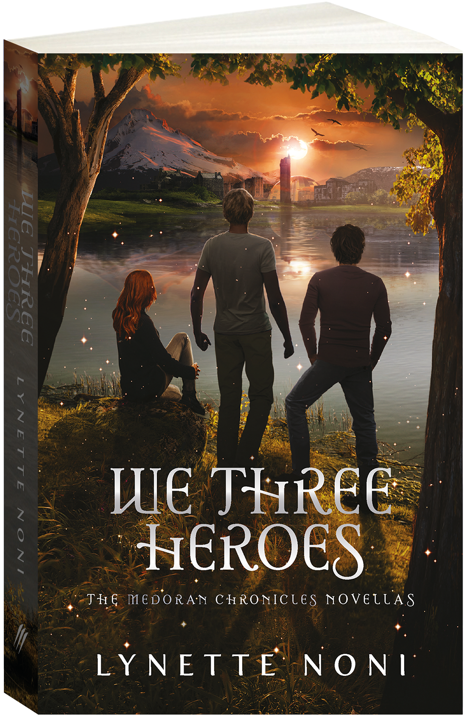 We Three Heroes Cover