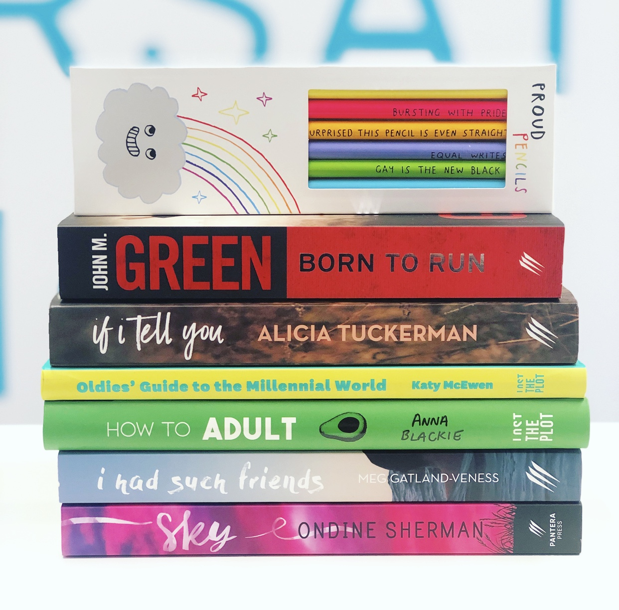 #RainbowBookstack Giveaway! event image