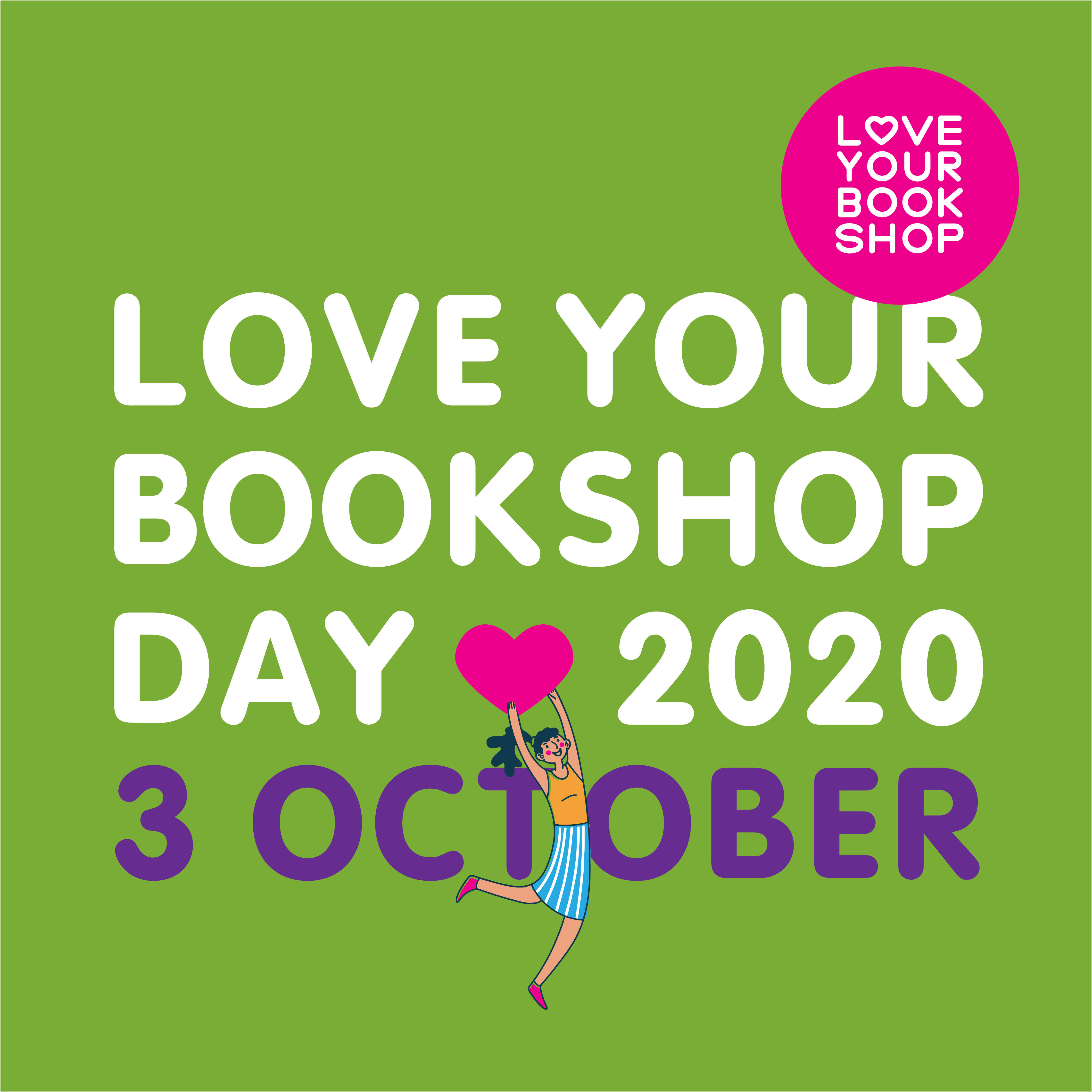 Love Your Bookshop Day by Anna Blackie event image