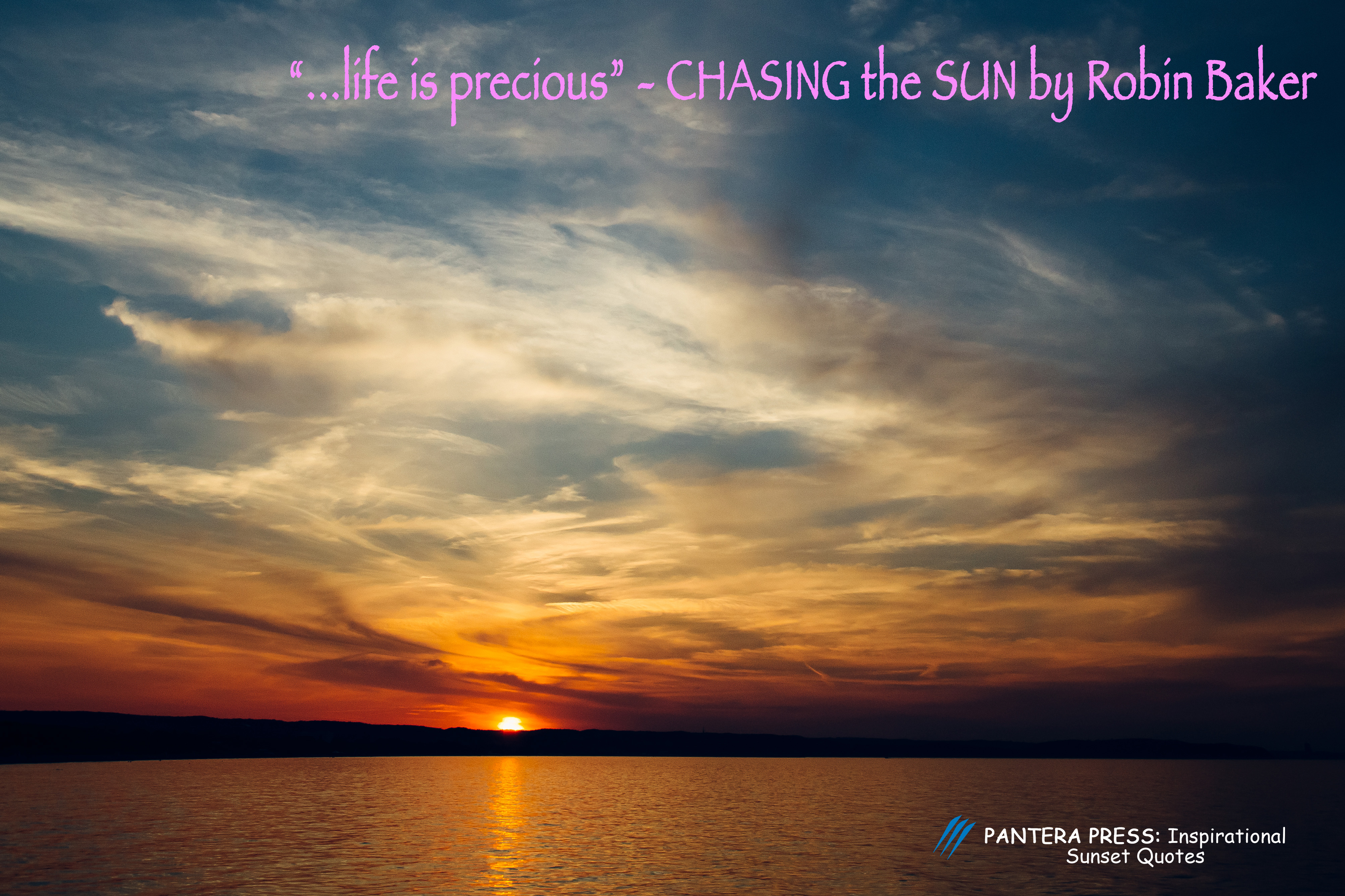 Inspirational Quotes On Sunset Pictures Pantera Press